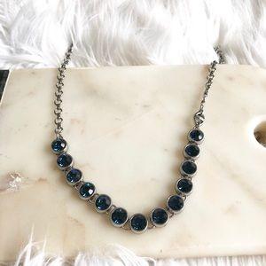 Lia Sophia Infinite Me Necklace - Blue Crystal